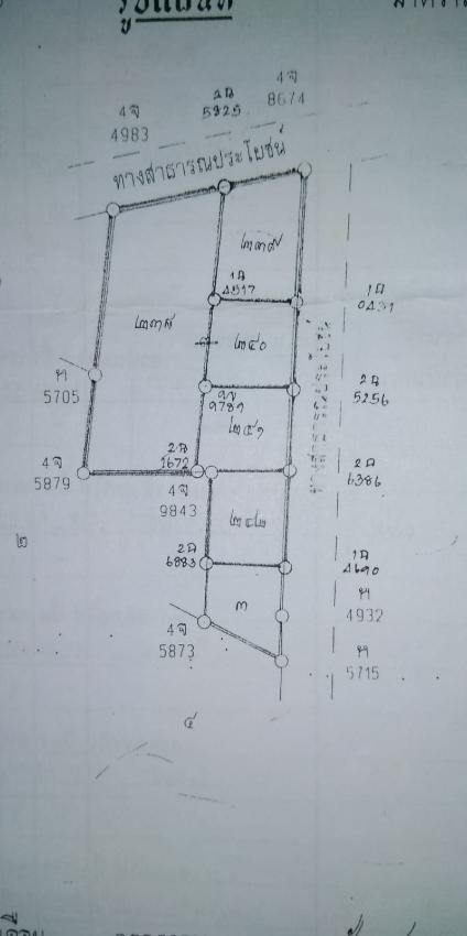 BANGSAPHAN 4 Plots of LAND FOR SALE (140/180/180/180 TW)