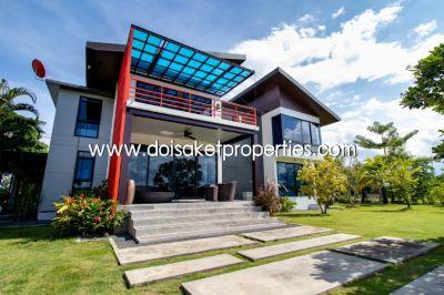 (HS146-03) Beautiful modern house with paddy fields panorama.