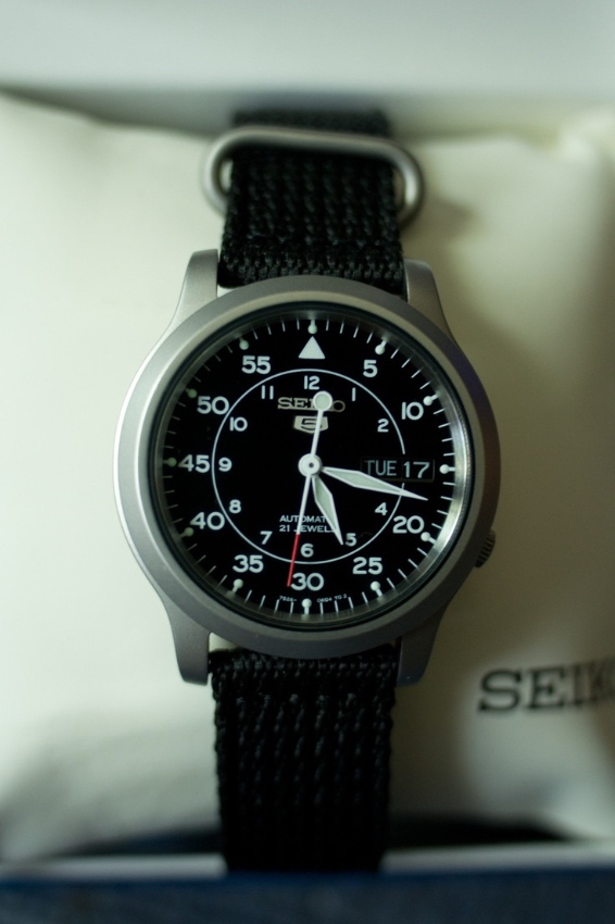 New Seiko Watch NSK809 For Sale