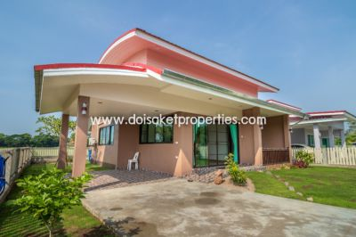 (HS241-02) Newly-Built Modern Home for Sale in a Quiet Moo Baan in Doi