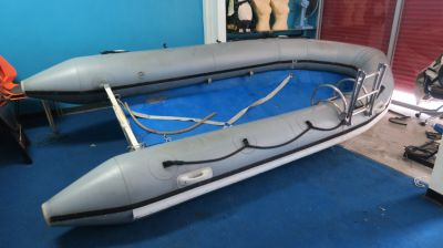 Cholamark Hypalon 410 Dingy with Outboard for sale