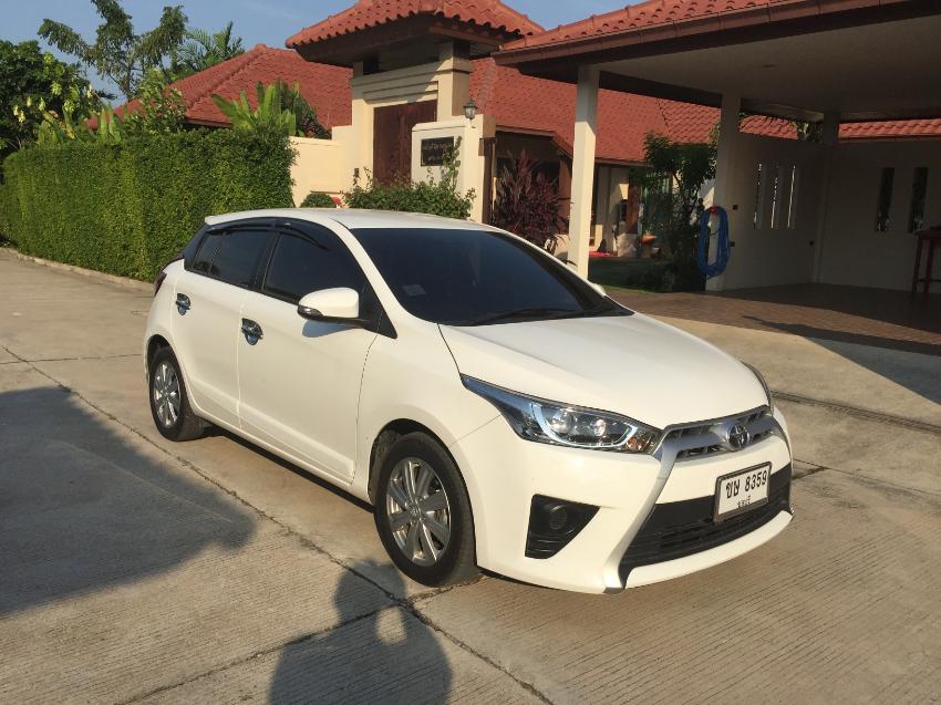 Toyota Yaris May 2016  Low mileage always garaged.