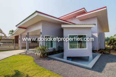 (HS234-03) Brand new, fully furnished, single story home for sale in D