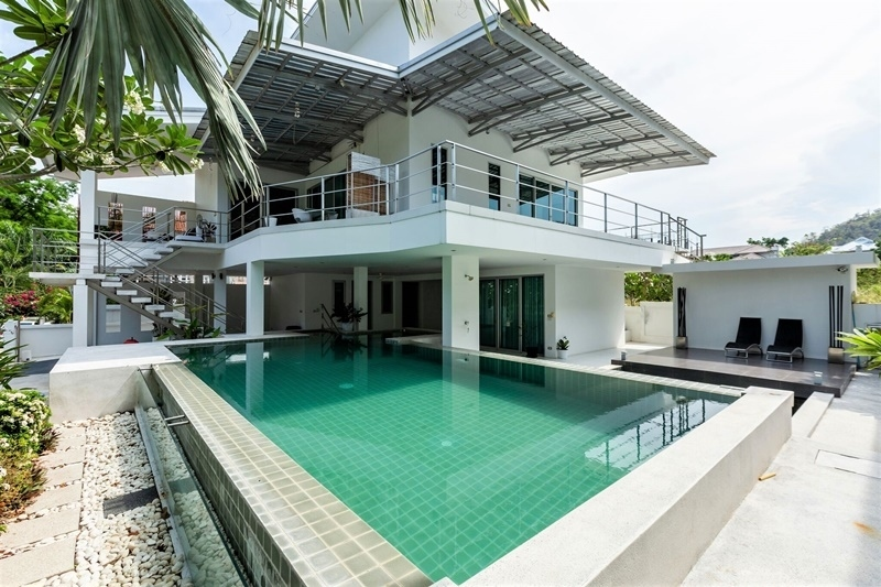 Short Term 3 BR 2 Bath Modern Pool Villa