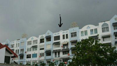 Pattaya Del Rey Condo 2 bed 2 bath 100sqm 5th floor (top) condo