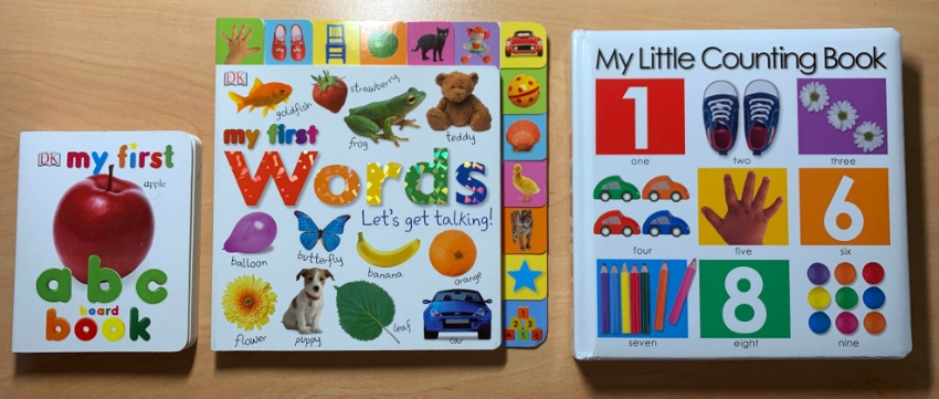 My First ABC + My First Words + My Little Counting Book ::: NEW :::