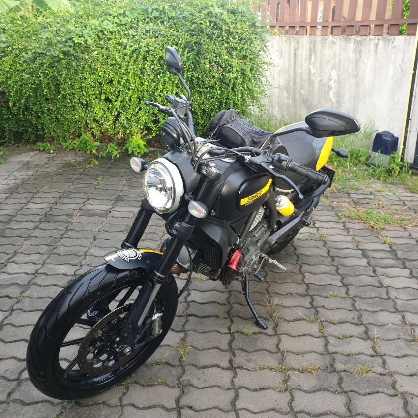 Ducati Scrambler FT