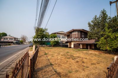 (HS233-02) Land with house for sale close to the Doi Saket-Bo Sang roa