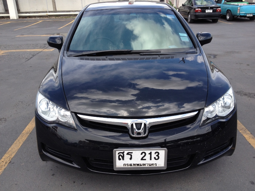 Honda Civic Black 1.8 E-AT Excellent Condition 245,000 Reduced