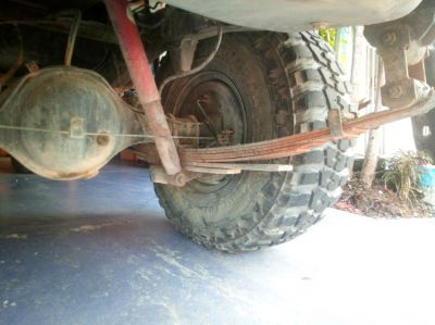 4x4 Mud Tyres and Rims 35