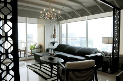 Rent 3  beds family condominium at The Empire Place Sathorn near BTS