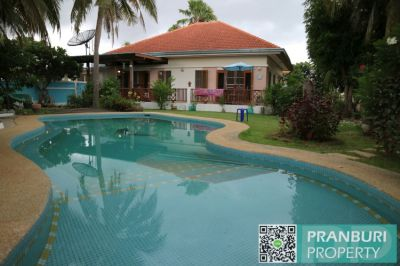 3 bedroom pool villa requiring fast sale in Khao Tao area 632sqm land