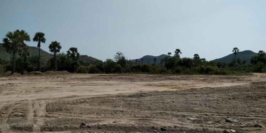 Land for sale in Pranburi near Hua Hin