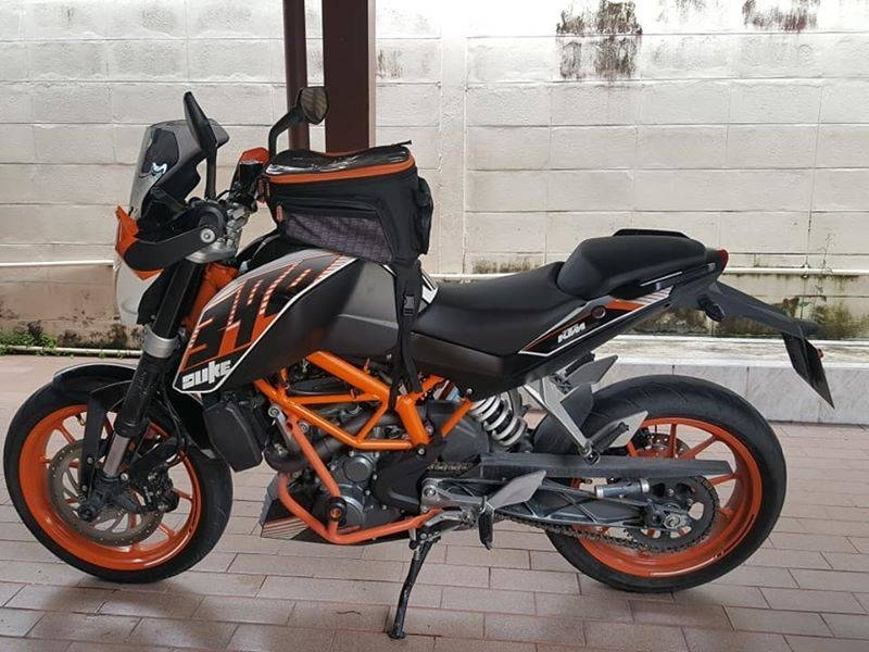 KTM Duke 390 Year 2015  with 38.000 km