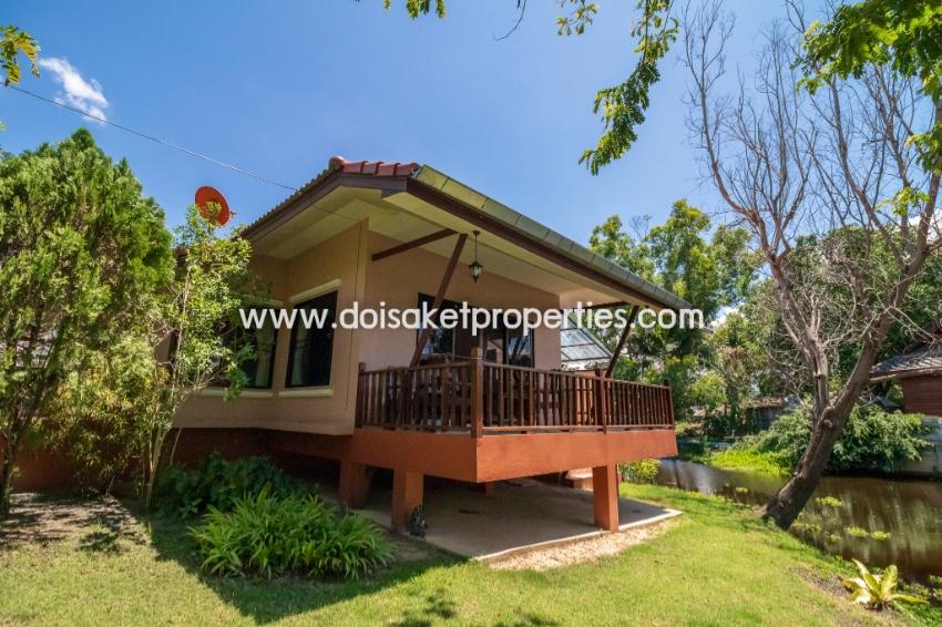 (HR097-02) Fully Furnished Rental House in Gorgeous Area, Doi Saket.