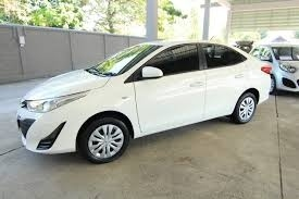 Toyota Vios 2010 White Nice Car for RENT in Phuket
