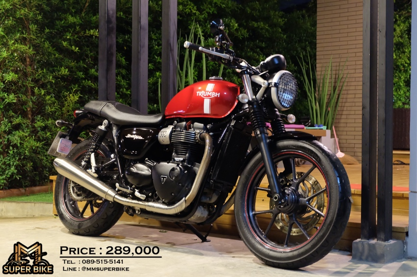Triumph Street Twin 2017 with an exceptional price!