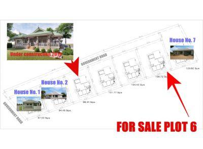 House plot for sale on a western development in Buriram