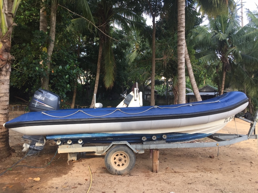 Strong Rib Boat for sale 5,9 m Hypalon 1,5 mm Yamaha 100 hp 4 Stroke