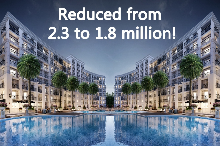 New Olympus development just reduced in price to 1.8 million!