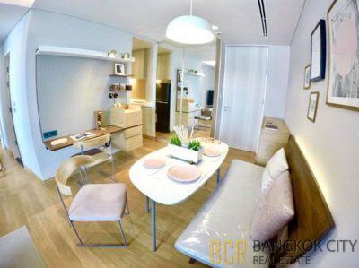 Lumpini 24 Ultra Luxury Condo Very High Floor 2 Bedroom Unit for Rent