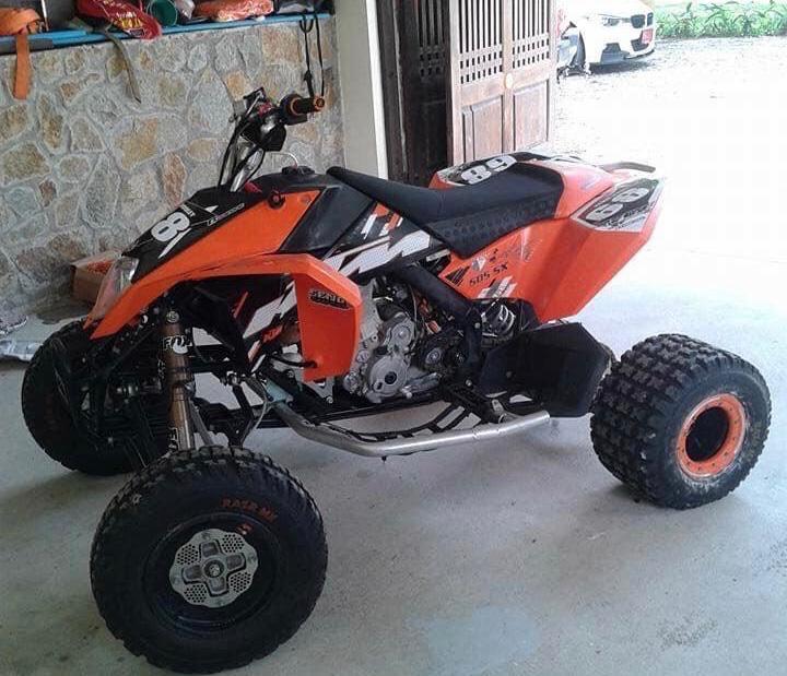 KTM 505sx ATV