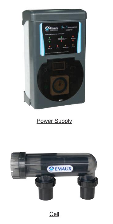 Emaux SSC Series Salt Chlorinator (New Improved Model)