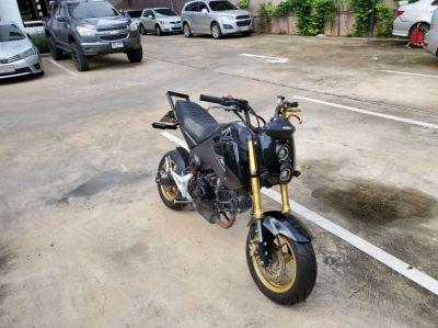 Stunt bike Honda msx 125