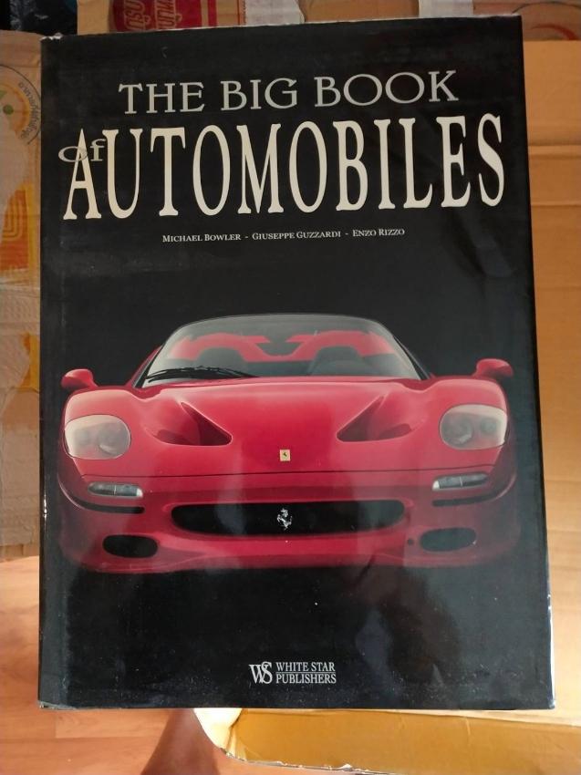 Car Books - Big Hard Cover Books
