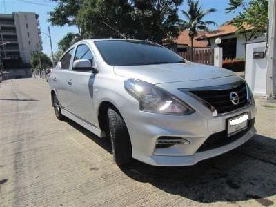 Nissan Almera sportech 2018 eco auto car for rent in Hua Hin