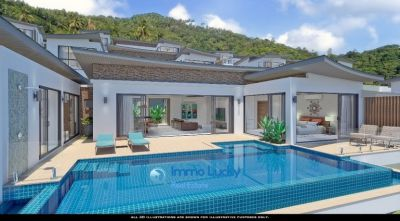 For Sale Villa Chaweng Noi Koh Samui 3 bedrooms Pool Sea View