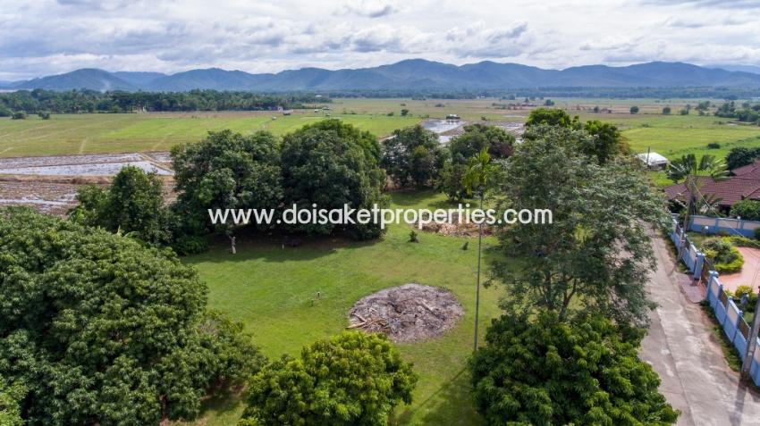 (LS312-00) Lovely Plot of Land Ready to Build on in Doi Saket