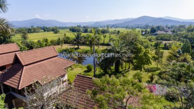 (HS208-03) House for sale with view of fields and mountains in quiet a
