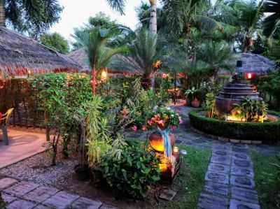 Nice Italian-Swiss Garden Restaurant Ticino for Sale in Pattaya