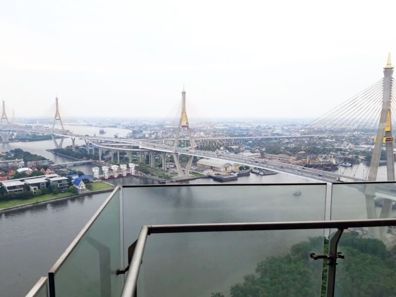 Spacious river view 2 bedrooms condo for rent at The Pano Rama 3 with