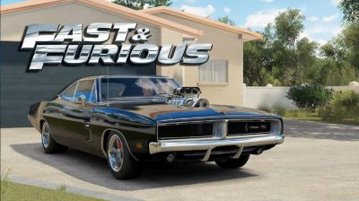 Dodge Charger 1969 American Muscle Car
