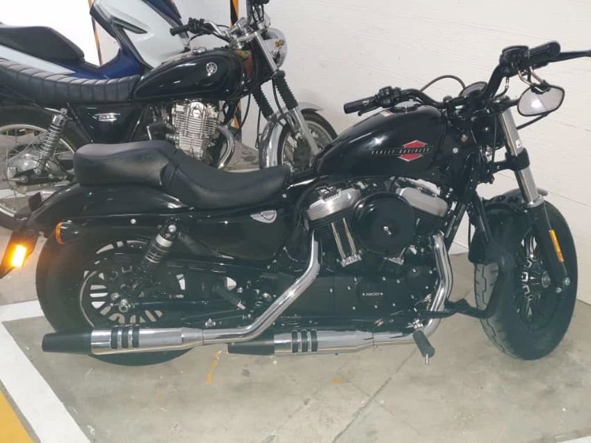 Harley-Davidson 48 Sportster 2019 with only 460 KM for Sale!
