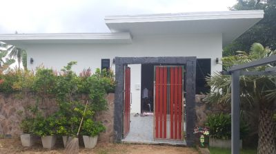 CHAK NGAEO -  UNCOMPLETED RESORT ON 4+ RAI. COMPLETED 4 BED VILLA