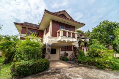 (HS251-04) Large 2 Storey House for Sale in a Nice Neighborhood in Doi