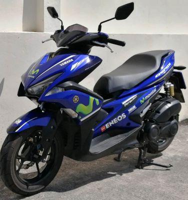 01/2018 Yamaha Aerox 155 51.900 ฿ Finance by shop