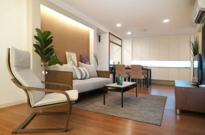 Lumpini Suite Rama3, condo 3bedrooms for rent with nice fully furnishe