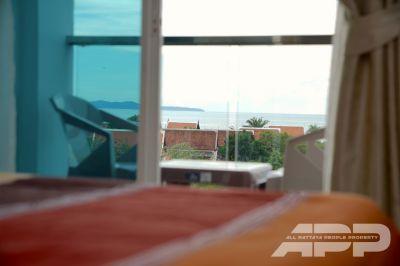 Nam Talay condo, sea view studio 26 sq.m