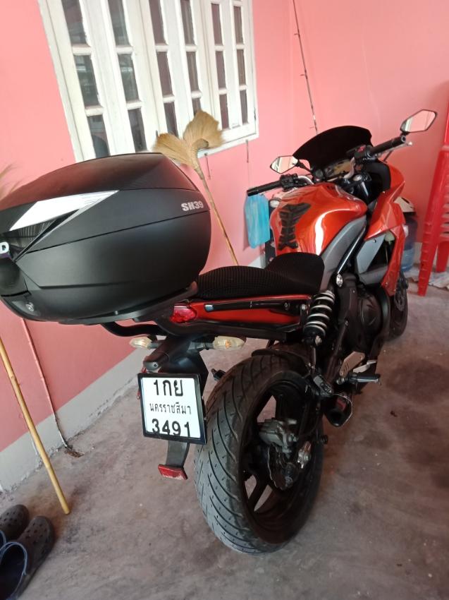 Kawasaki Ninja 650cc for sale new exhaust Agropopic racing,