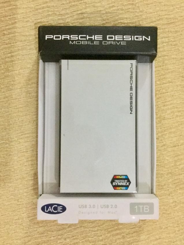 LaCie Porsche Design Mobile drive USB 3.0