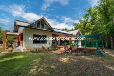 (HS252-02) Single Storey House on a Large Lot for Sale in Doi Saket