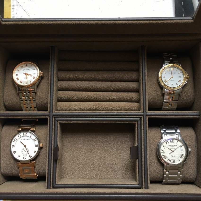 Four luxury man watches - Excellent conditions
