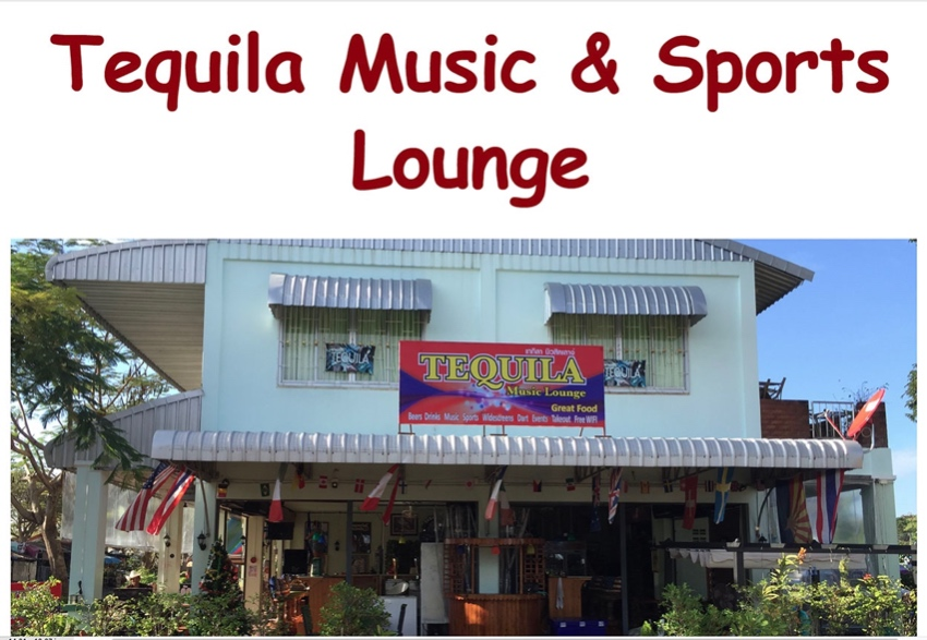 Tequila Music Lounge Restaurant & Bar in Ban Phe Rayong
