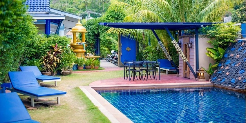 Highly Rated Resort in Kata with Swimming Pool