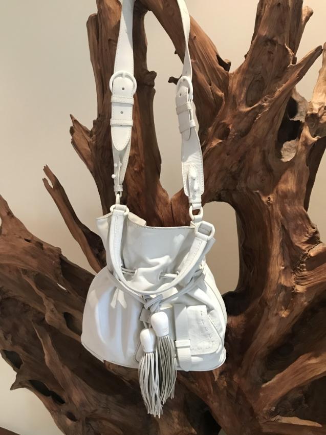 Bag leather luxe Lancel Paris