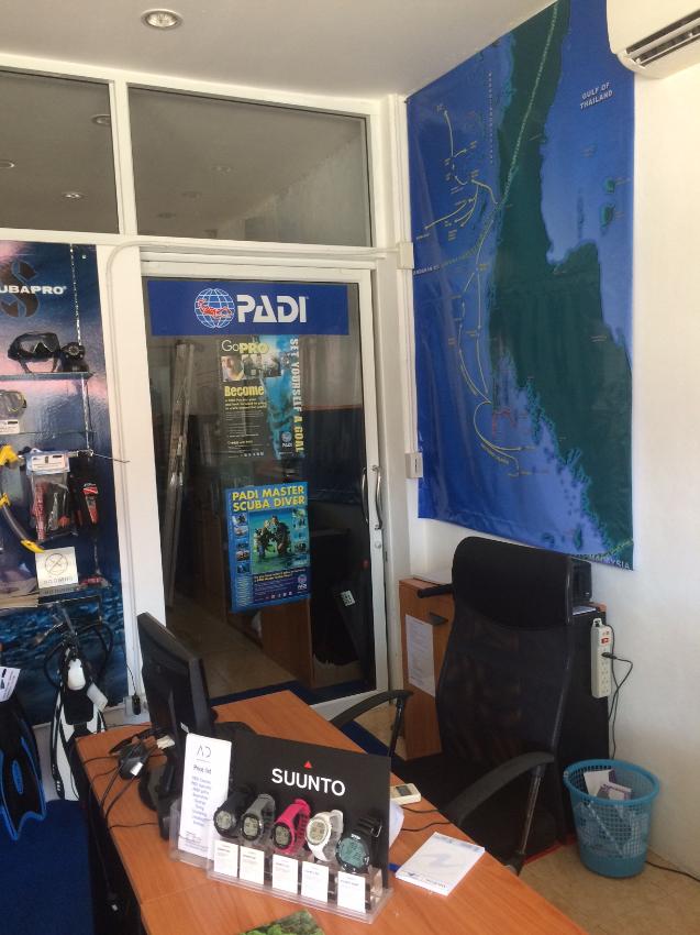 Dive Center in Kata, 4 Million THB registered capital TAT etc for sale